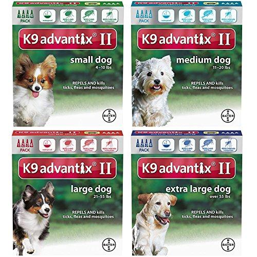 K9 Advantix II for dogs 11-20 pounds - 4 month supply by K-9 Advantix by Bayer Animal Health (Image #1)
