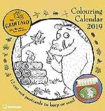 2019 Colouring Gruffalo Postcard Calendar