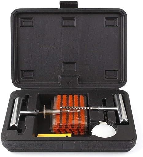 Femor - Kit de reparación de pinchazos para neumáticos sin cámara ...
