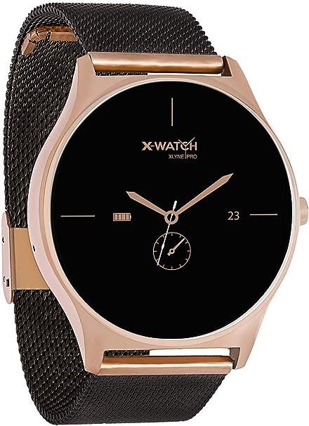 X-WATCH Joli XW Pro - Smartwatch para Mujer, Color Oro Rosa ...