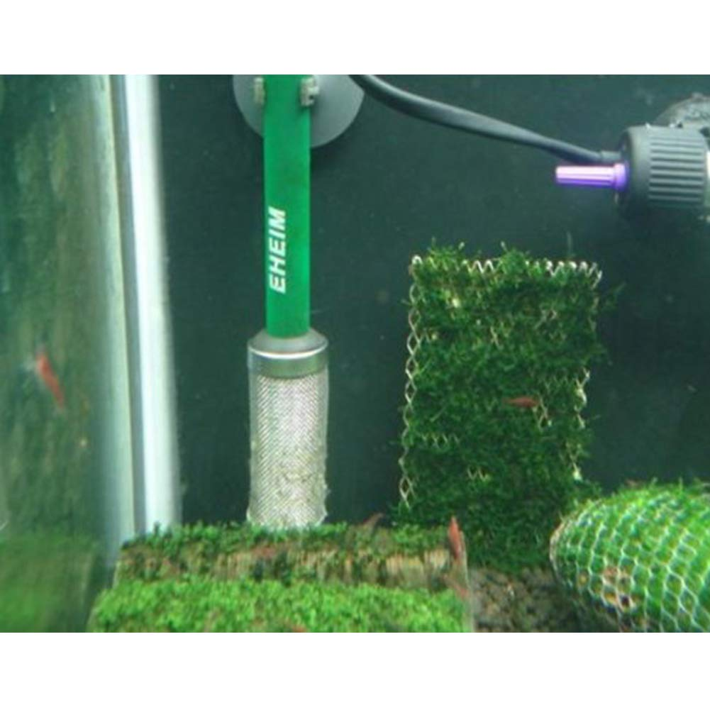 Aquarium Fish Tank Stainless Steel Mesh Net Filter Guard for Fish Shrimp 16mm