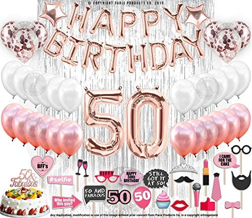 Birthday Decorations Supplies Confetti Balloons product image