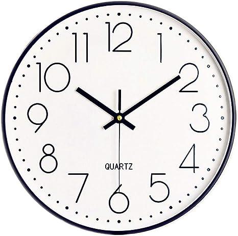 Wall Clock Home Office Decor Silent Non Ticking Quartz Battery Operation 12/'/'