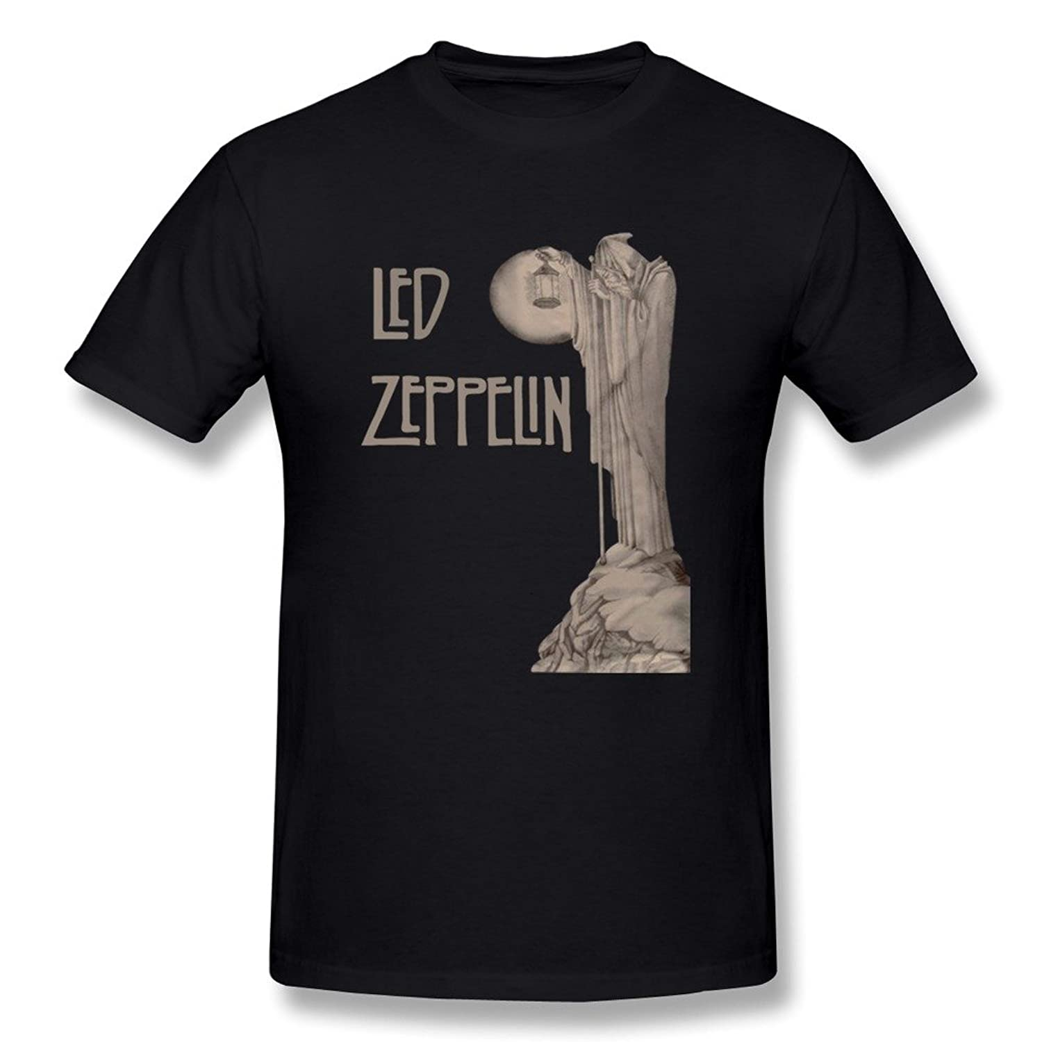 Led Zeppelin Legends Union Jack T-Shirt-Navy