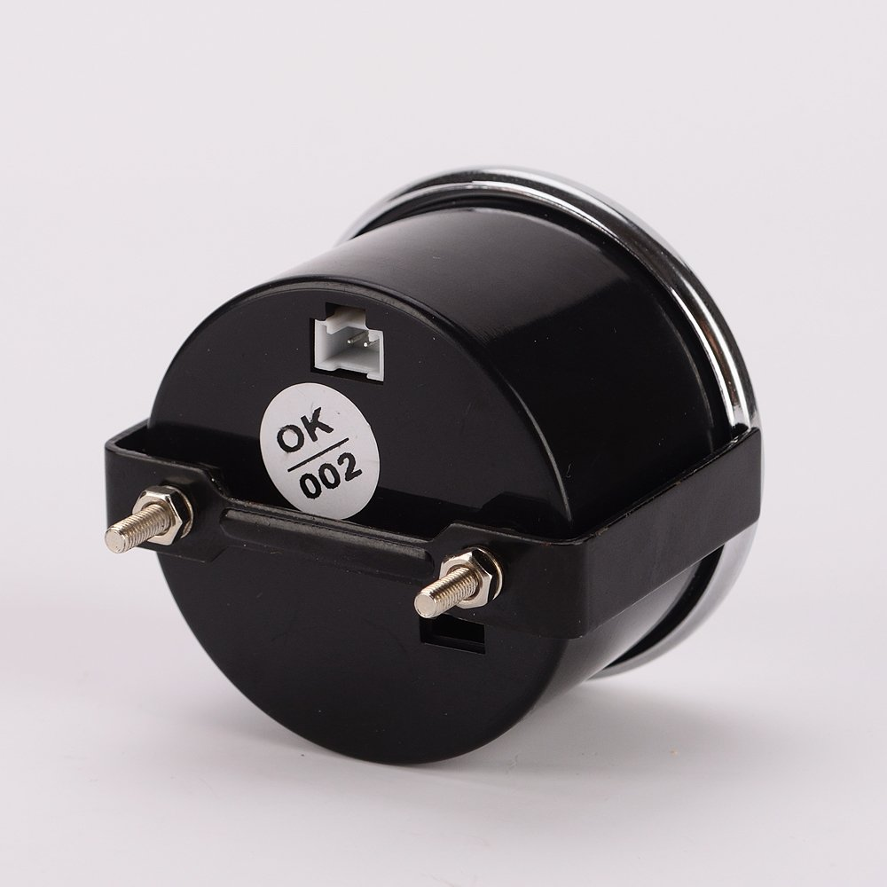 Iztoss Universal LED Motorcycle Tachometer+Odometer Speedometer Gauge