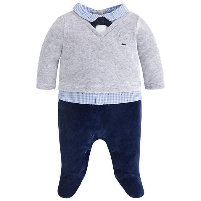 Mayoral - Pelele - para bebé niño gris gris: Amazon.es: Ropa ...