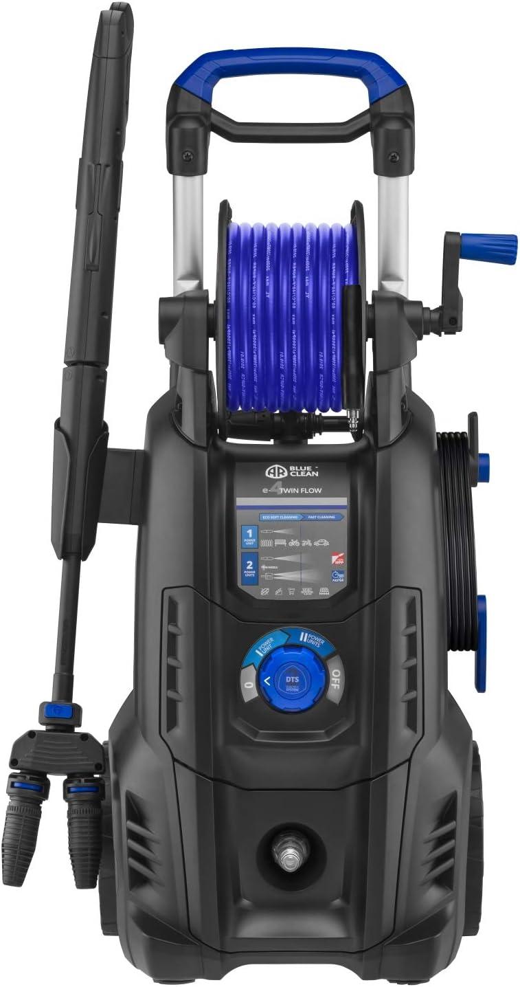 AR Blue Clean e-1300 Idropulitrice ad Alta Pressione 1300 W, 100 bar, 390 l//h