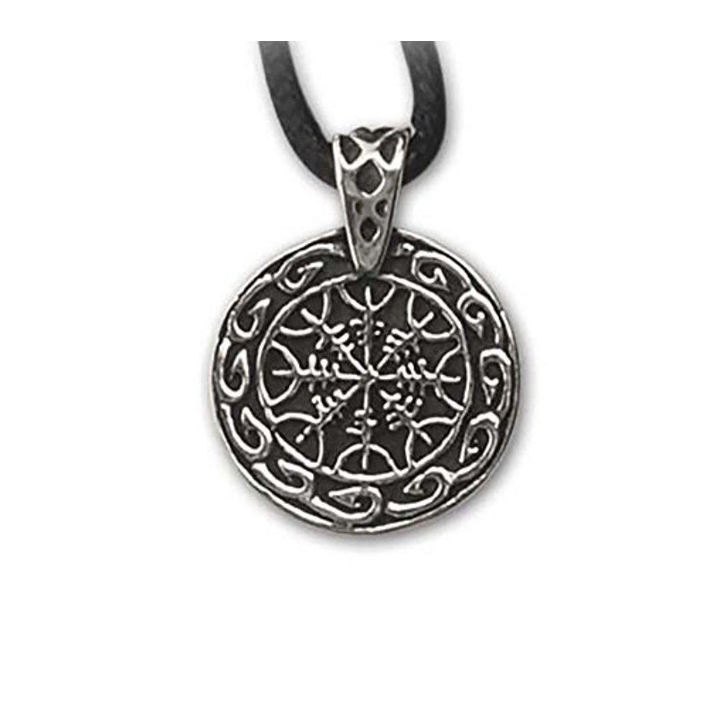Anhänger Helme der Furcht Keltischer Schmuck Amulett aus 925er Silber Schutzamulett vor Gefahr etNox ECHT K837