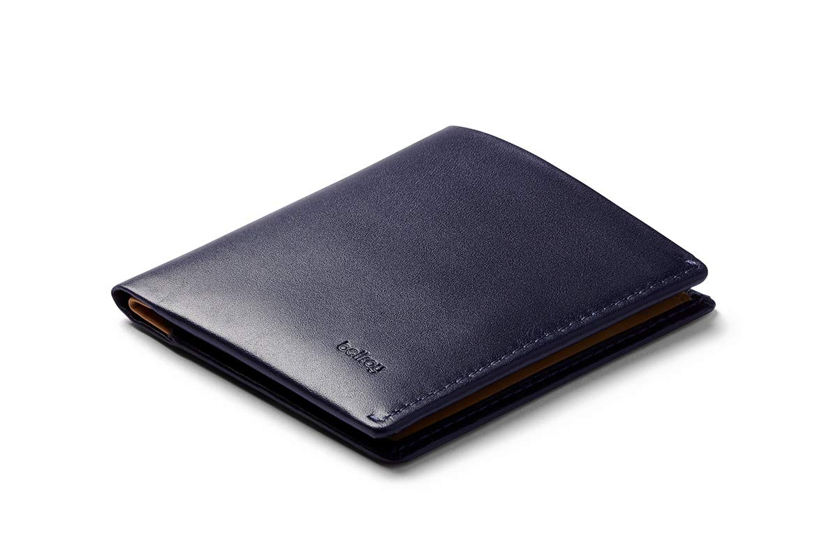 Bellroy Note Sleeve, slim leather wallet, RFID editions available (Max. 11 cards and cash) by Bellroy