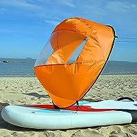 LOVEER Remo de Viento para Kayak, de la Marca, de 42 Pulgadas, Plegable, con protección UV, para Kayak, Barco, Paddle, Canoa