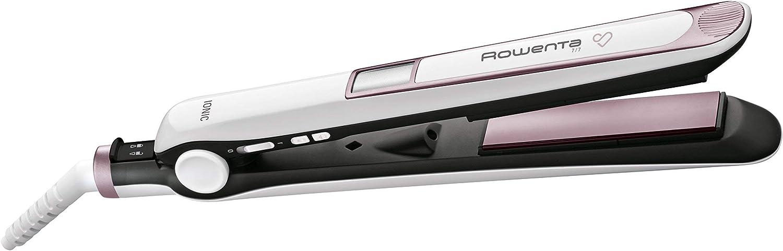 Rowenta Premium Care SF7460F0 - Plancha de Pelo, alisa, ondula y riza, de alta protección con recubrimiento de cashmere Keratin con aceite de argán y el generador de Iones,cable 360º (Reacondicionado)