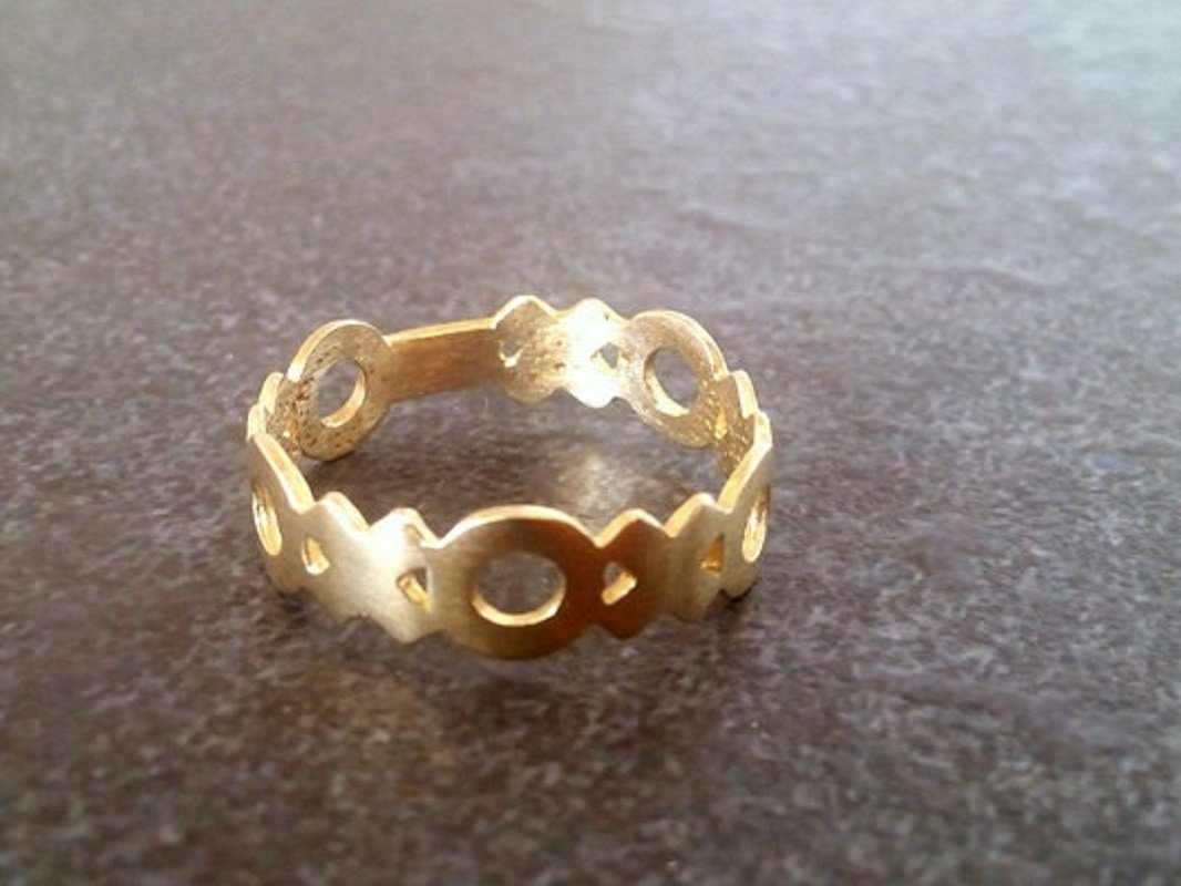 gold filled ring sisters ring midi ring simple ring,stack ring stacking ring,XOXO Midi Ring