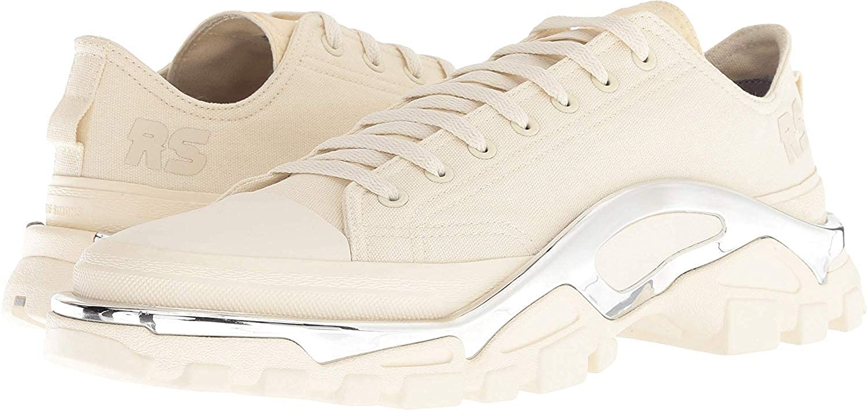 Cream White Cream White Cream White Adidas Women's RAF Simmons Detroit Runner Sneakers