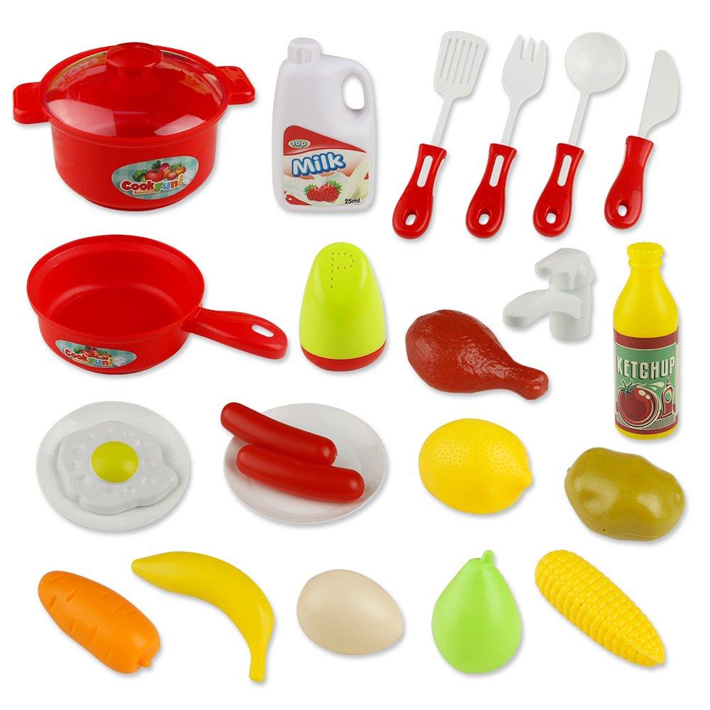 Spielzeug Küche Kochset Kinder Tisch Rollenspiele Pretend ...