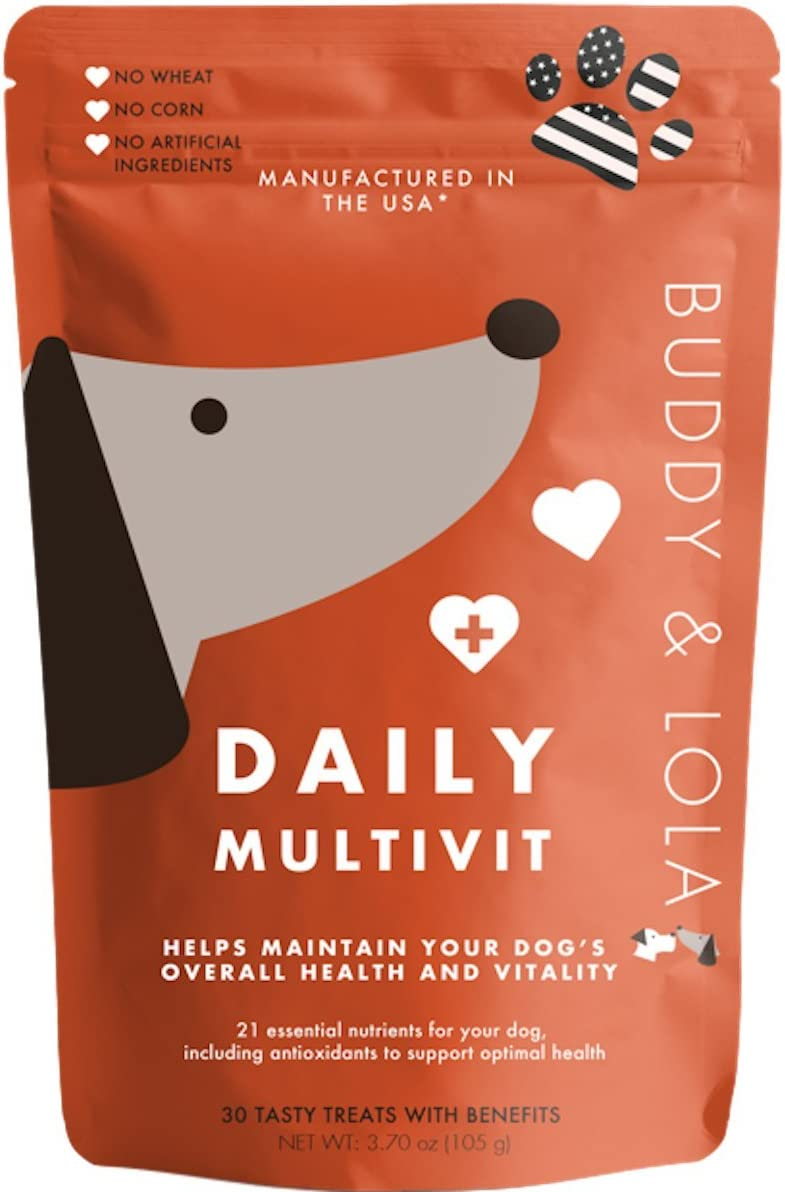 Buddy and Lola Multivitamin Chews for Dogs