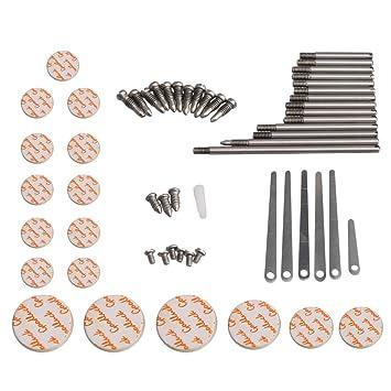 ... de reparación de clarinete Reed Top tornillo dedo apoyo clave eje parte superior tornillo Reed Pin, Type B: Amazon.es: Instrumentos musicales