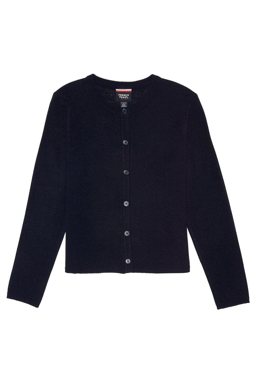 French Toast Fine Gauge Knit Cardigan Sweater(Junior Sizes) Girls French Toast School Uniforms 1120X
