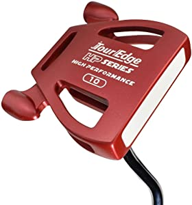 Tour Edge Male HP Series Putter (Men's, Right Hand, Steel, Uniflex, Putter), Red, Putter