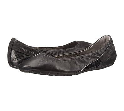 Womens Shoes Cole Haan Zerogrand Stage Door Ballet Black/Black Patent