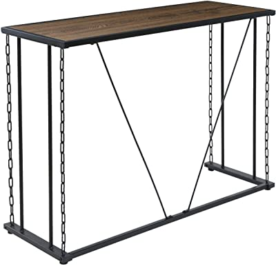 Amazon Com Furniture Hotspot Faux Marble Top Skinny