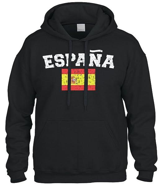 Amazon.com: cybertela Faded Distressed Espana Bandera ...