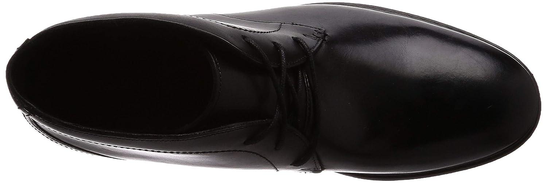 Clarks 261194707 Botas de Piel para Hombre, Color Negro