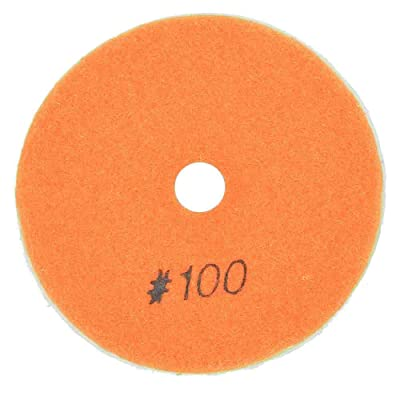 "Specialty Diamond BRTD4100 4"" Dry Concrete Polishing DHEX Pad, 6mm - 100 Grit: Home Improvement"