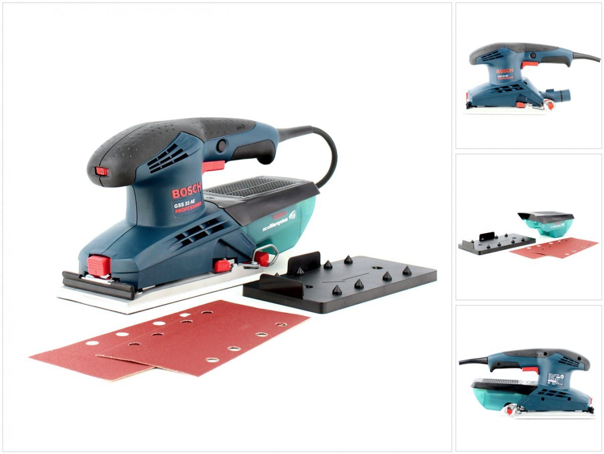 Bosch Professional 0601070700 Ponceuse vibrante GSS 23 AE 190 W