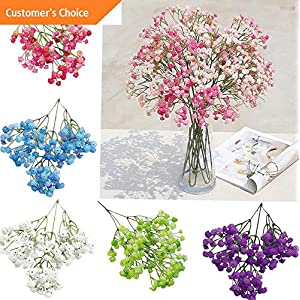 Hebel 1Pc Artificial Gypsophila Fake Flower Garden Wedding Party Home Decoration Cal | Model ARTFCL - 153 | 108