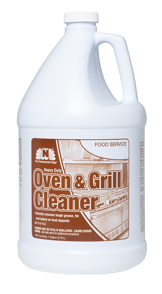 Nilodor 128 OGC Oven and Grill Cleaner, 1 gal