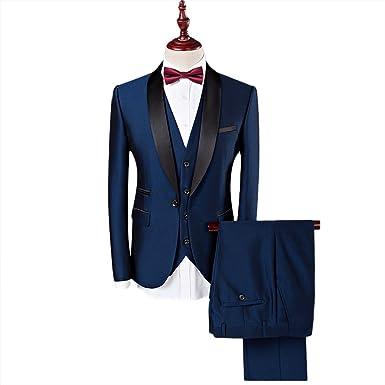GWELL - Traje - para Hombre Bleu Foncé FR XX-Large(Etiqueta ...