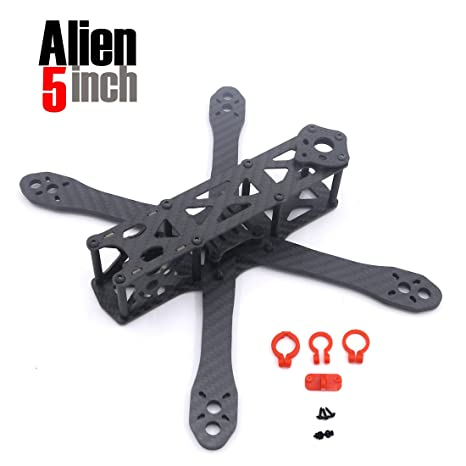 Amazon.com: Alien FPV quadcopter frame 225 225mm DIY cross racing ...