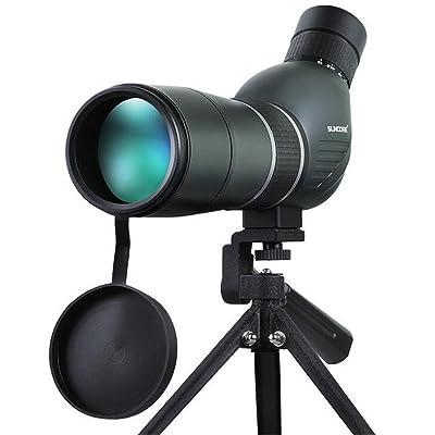 TTYY Télescope monoculaire Portable HD 15-45X60 imperméable pour des oiseaux / faune / chasse / camping (à l'exclusion de support de trépied)