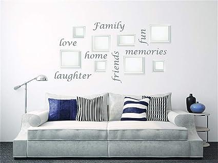 Amazon Com Hesiu Quotes Vinyl Wall Art Decals Saying Words