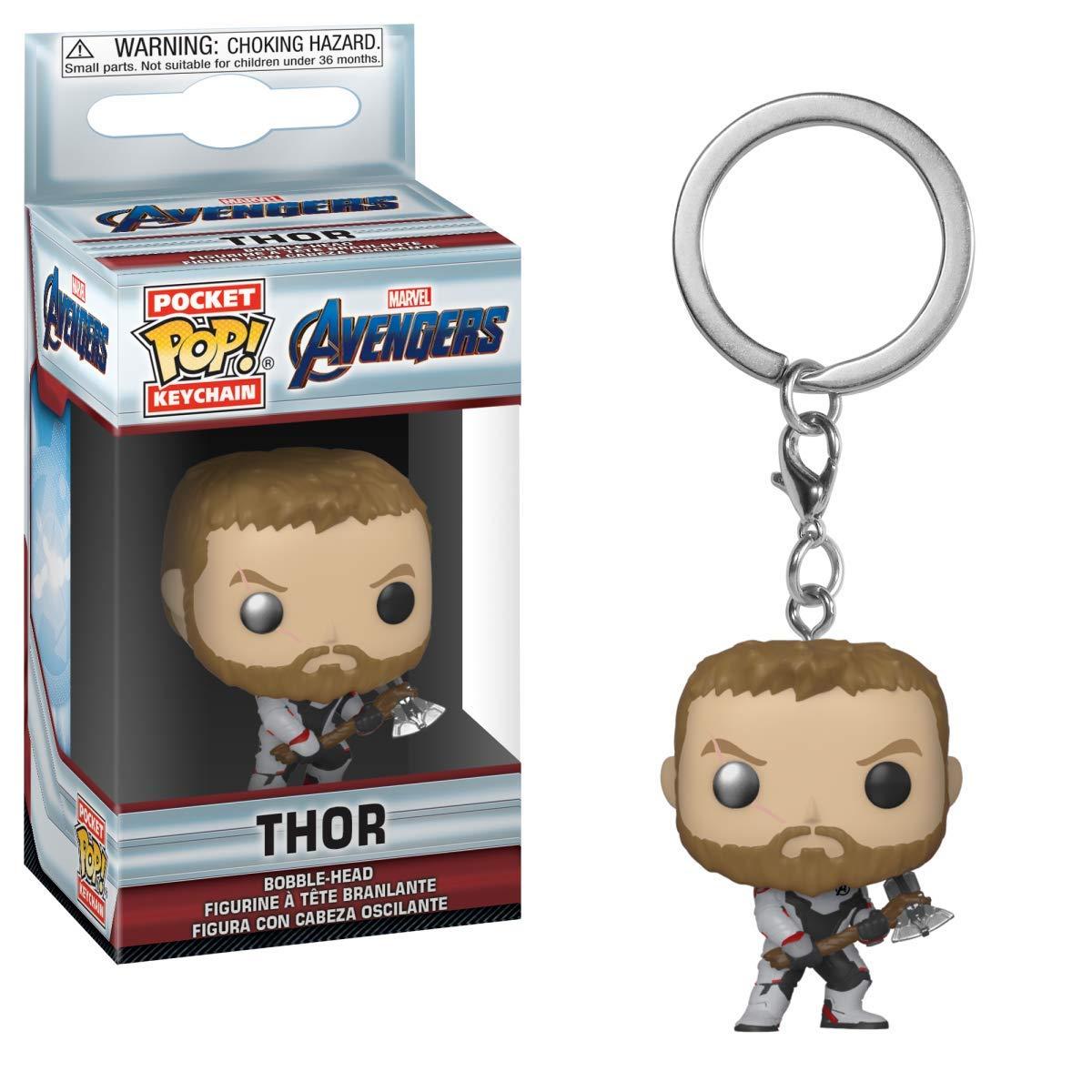 Horror-Shop Avengers Endgame - Llavero Thor Funko Pop ...