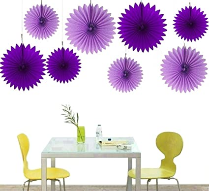 Amazon zorpia decorative fan tissue paper fan collection zorpia decorative fan tissue paper fan collection assorted fans of 10 16 stopboris Image collections