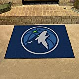 Fanmats 19455 33.75''x42.5'' Team Color NBA - Minnesota Timberwolves All-Star Mat