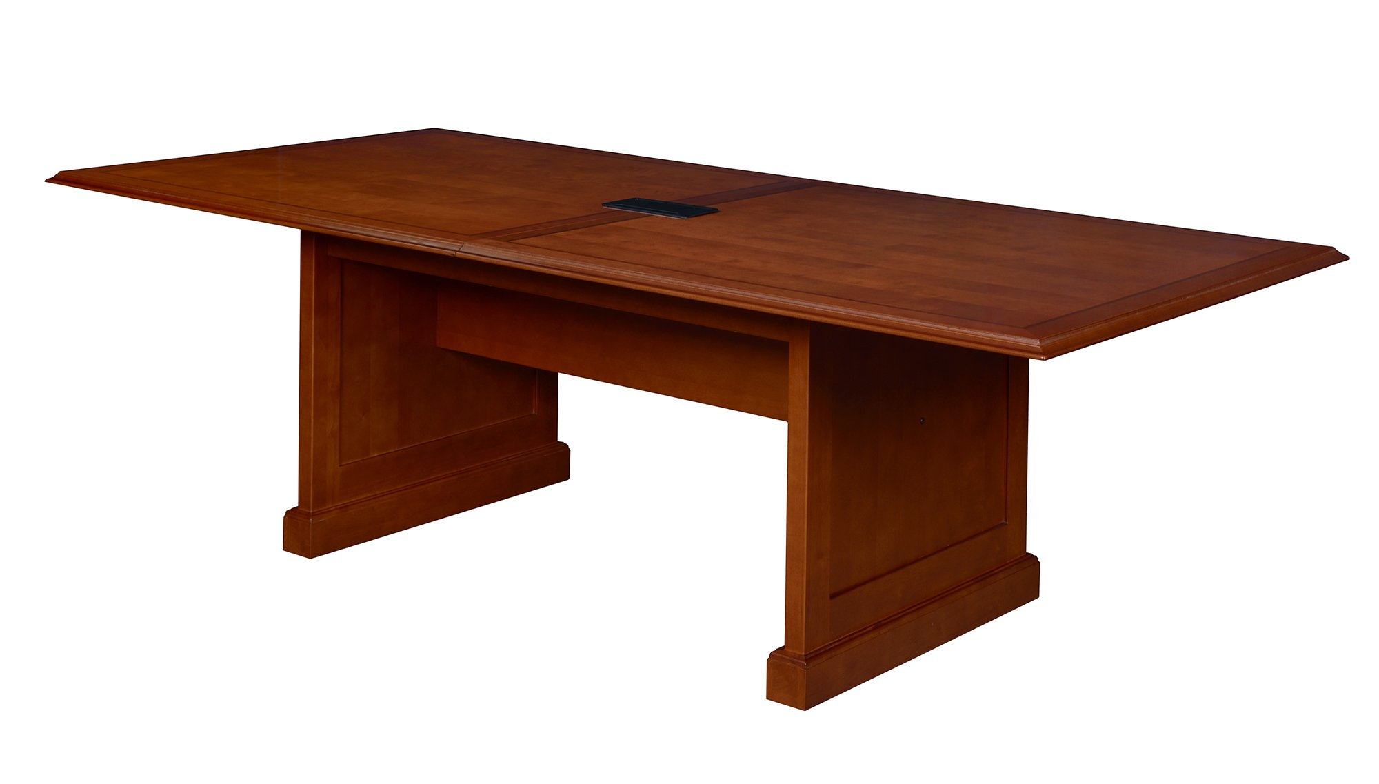 Regency TVCTRC9648CH Prestige Traditional Veneer Conference Table with Power, 96-inch, Cherry
