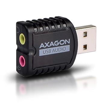 AXAGON ADA-10 - Tarjeta de Sonido Externa USB (Adaptador de ...