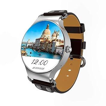 HHJEKLL Pulsera Inteligente Smart Watch Android 5.1 3G WiFi GPS ...