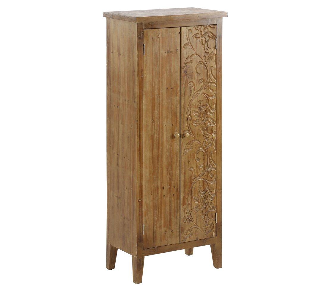 Dehner Hochschrank Sumatra, ca. 150 x 60 x 35 cm, FSC Holz, natur