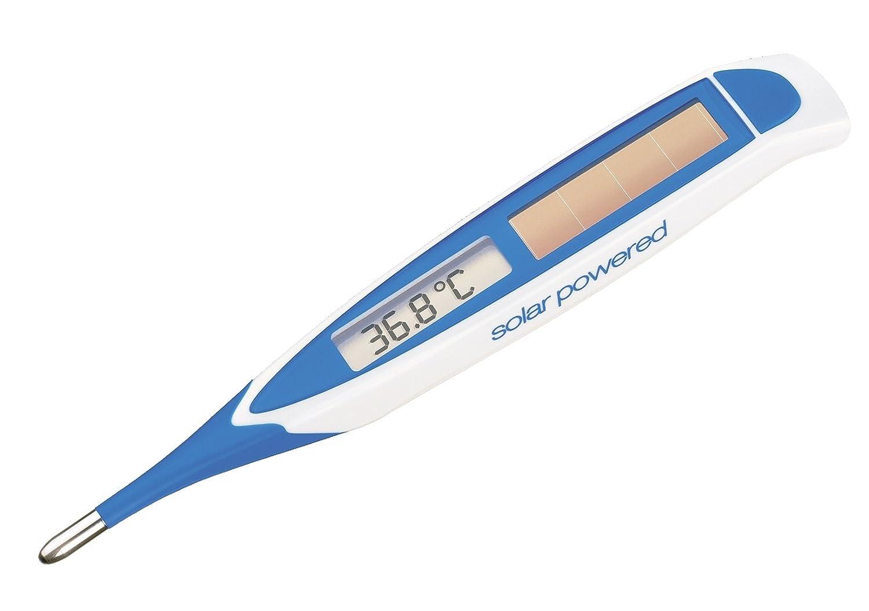 Digitales Fieberthermometer mit flexibler Spitze OHNE Batterie Geratherm solar speed nickelfrei