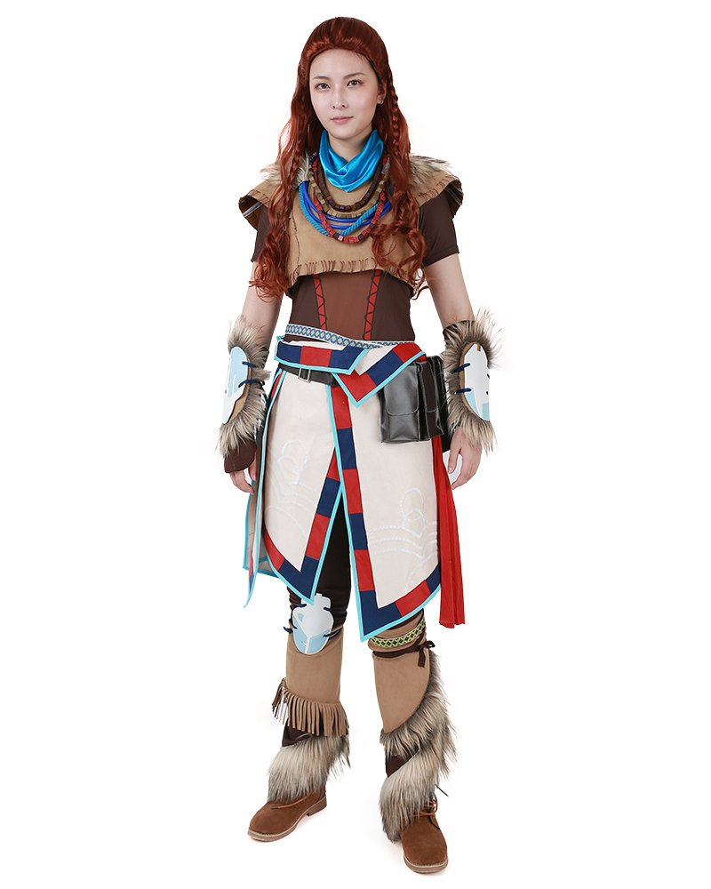 miccostumes Womens Aloy Cosplay Costume (L)