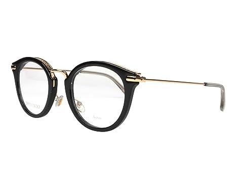 c6cc2c0ee682 Jimmy Choo frame (JC-204 807) Acetate - Metal Shiny Black - Gold ...