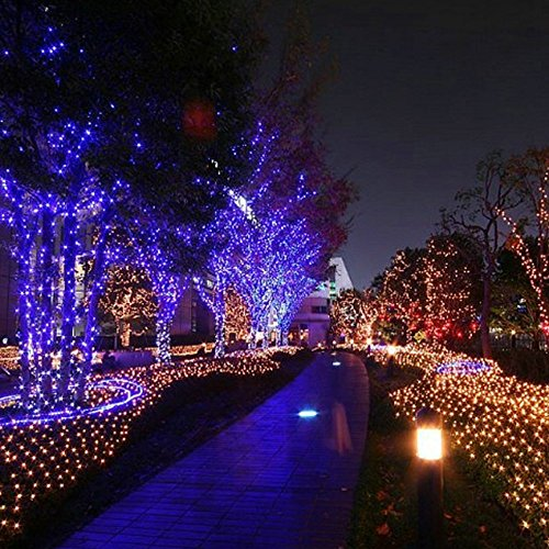 HDS TEK HDS LED MU Decorative Solar Powered Christmas Lights 200 LED String  Light For Garden, Lawn, Patio ...
