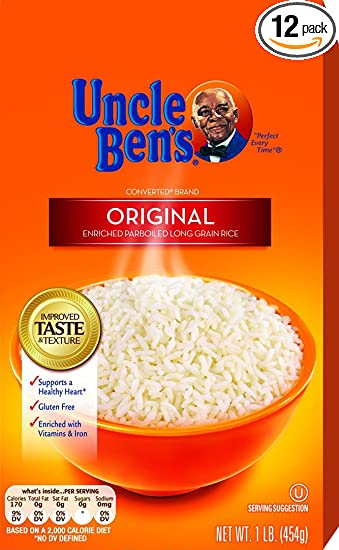 Uncle ben's rice recalled because undeclared milk content could be.