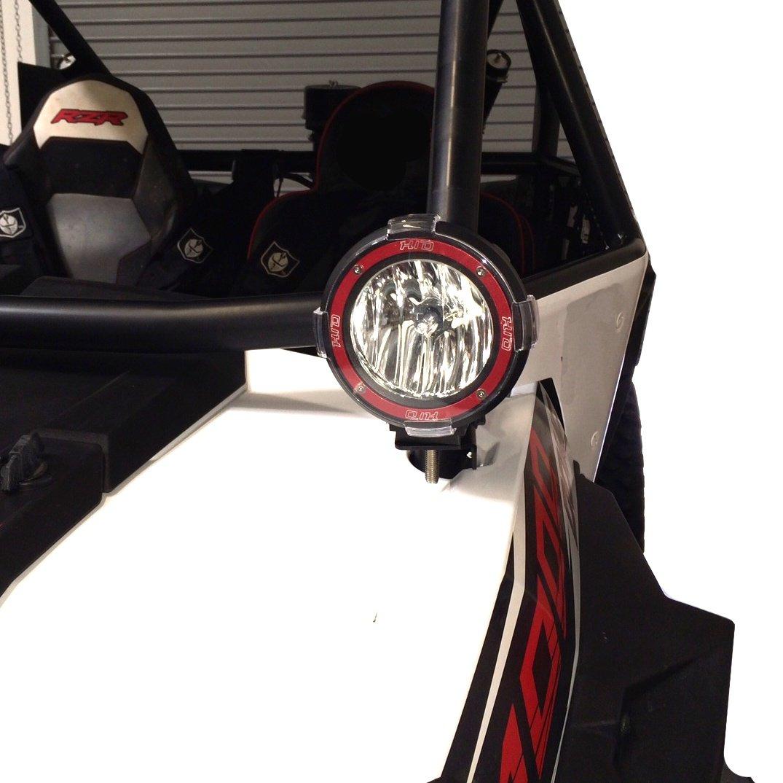 Amazon.com: STV Motorsports 2015 2016 POLARIS RZR XP 1000 RZR 900 Black  Lights Mounting Brackets Kit: Automotive