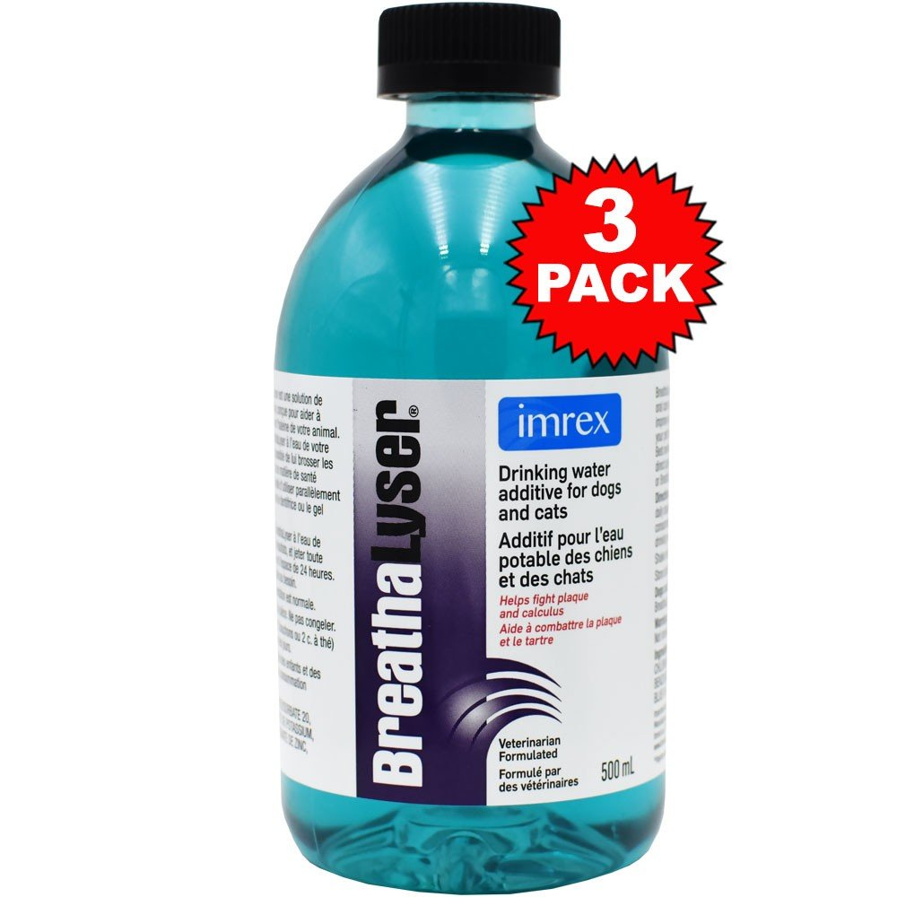 3PACK Breathalyser Water Additive (1500 mL)