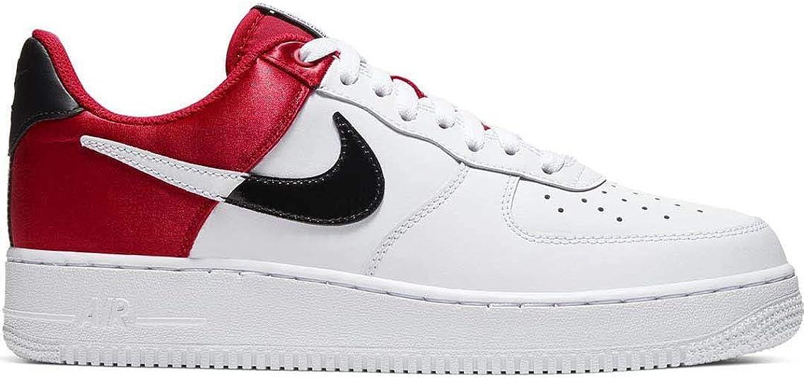Nike Air Force 1 '07 LV8 Herrenschuhe, WeißRot, Weiß weiß