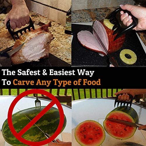 WUJIANCHAO 1pc Barbecue Fork Manual Pull Meat Shred Schweinefleischklemme Bratgabel Küche BBQ Tools Pull Shred Pork Shredde
